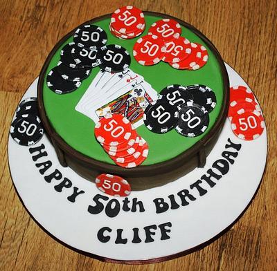 P-P-P-Poker Cake….. P-P-Poker Cake! - Cake by Carol Vaughan