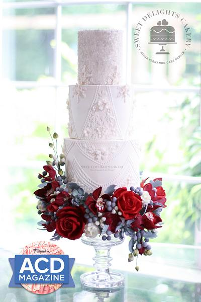 Winter Love - Cake by Sweet Delights Cakery