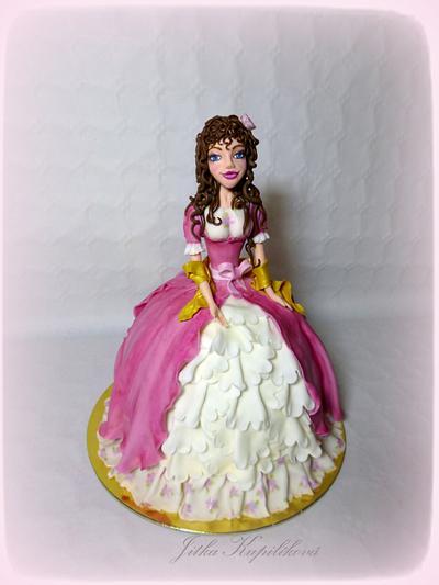 Princezna - Cake by Jitka