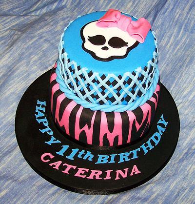 Monster High Birthday Cake - Cake by Sandra's cakes