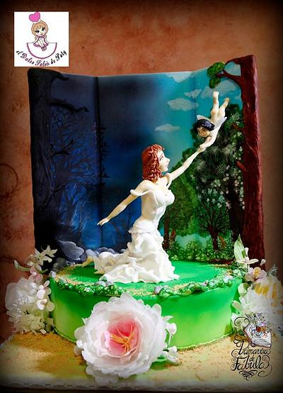 Mother without Tears for the Fable Spring Collaboration - Cake by Dulce Salon by Paty