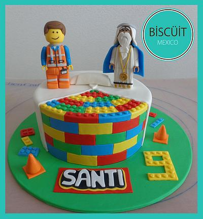 Lego Cake - Cake by BISCÜIT Mexico