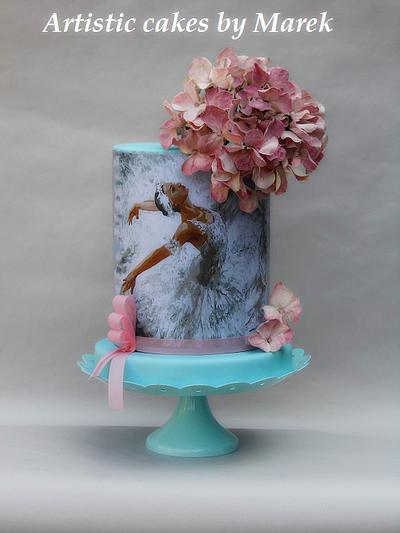 Ballerina cakes birthday - Cake by Marek