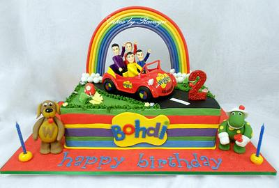 The Wiggles for Bohdi - Cake by Raewyn Read Cake Design