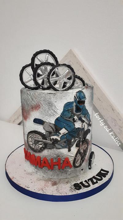 Bday motorcykle - Cake by Kaliss