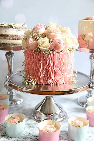 """6"""" Cake Trio!!  - Cake by Cake! By Jennifer Riley"""