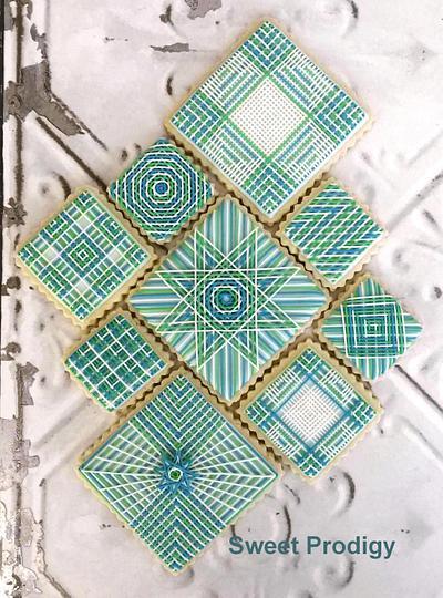 Mosaic Stringwork - Cake by Sweet Prodigy