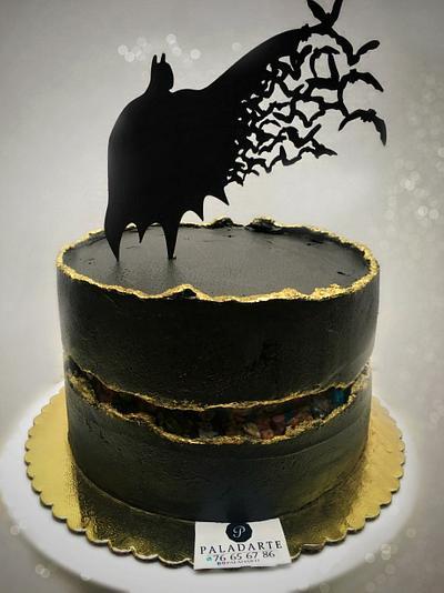 Batman Fault line - Cake by Paladarte El Salvador