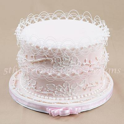 Summer Wedding Cake - Cake by Bobbie
