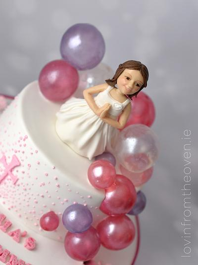 Daughter's Communion cake - Cake by Lovin' From The Oven