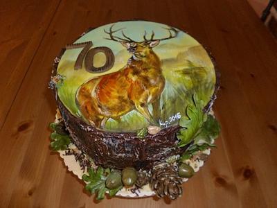 Dort pro myslivce - Cake by Jitka