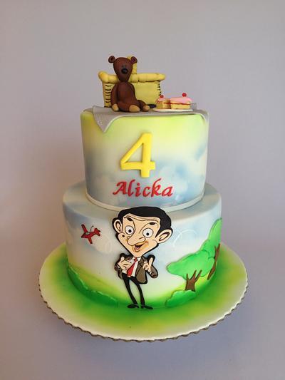 Mr.Bean birthday cake  - Cake by Layla A