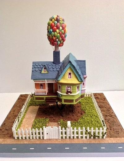 """""""UP"""" HOUSE - Cake by mairin"""