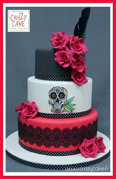 Mexican theme wedding cake - Cake by Crazy Cake