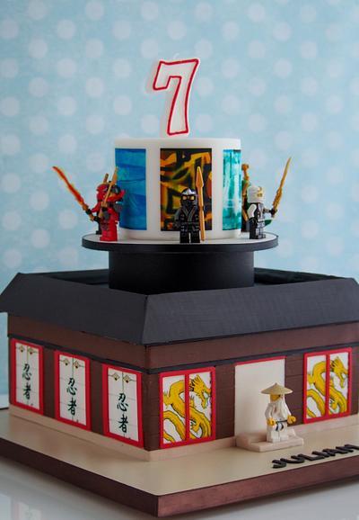 Lego Ninjago - Cake by Maria