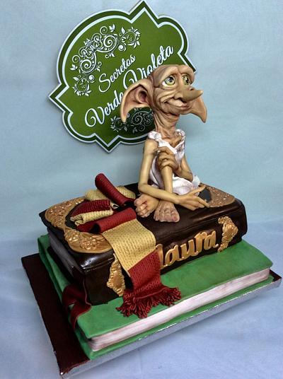 Dobby Harry Potter  - Cake by secretos verde violeta