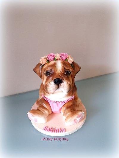 Anglicky bulldog - Cake by Ivciny dortiky