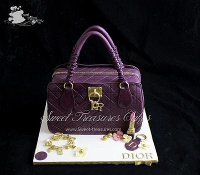 Dior Design Bag Cake - Cake by Sweet Treasures (Ann)