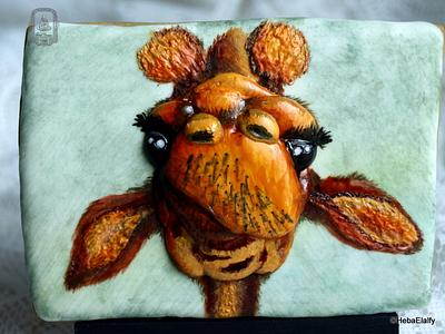 Jirafas The Challenge, collaboration - Cake by Sweet Dreams by Heba