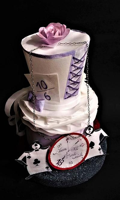 Mad hatter cake  - Cake by Clara
