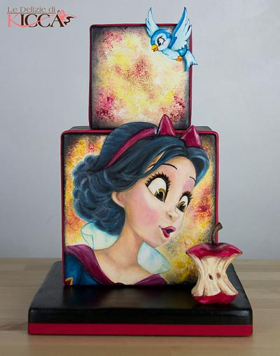 Biancaneve/Snow white - Cake by  Le delizie di Kicca
