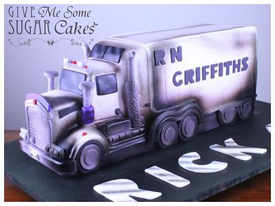 Kenworth T909 truck cake - Cake by RED POLKA DOT DESIGNS (was GMSSC)