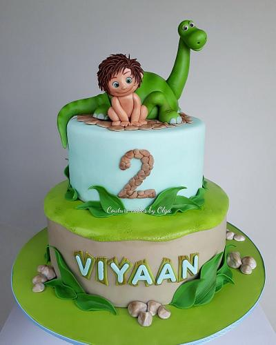 Good dinosaur - Cake by Couture cakes by Olga