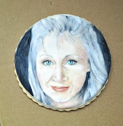 Selfie cookie - Cake by Calli Creations