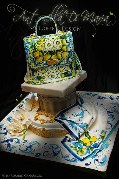 D&G Tiles Cake Sicily - Cake by Antonella Di Maria