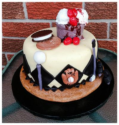 """These are a few of my favorite things..Happy Father's Day - Cake by June (""""Clarky's Cakes"""")"""