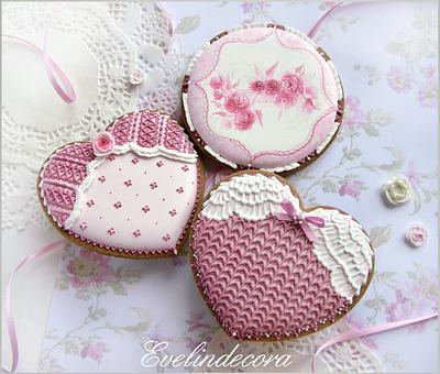 Crochet cookies - Cake by Evelindecora