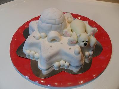 Polar bear - Cake by Clara