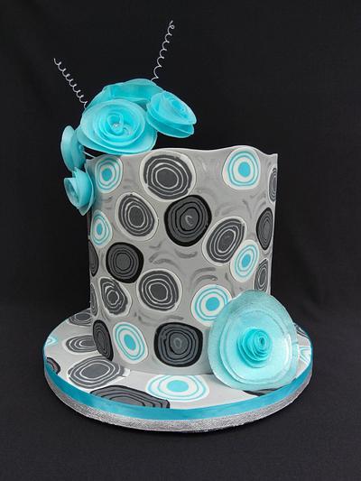 Modern Art Cake - Cake by Diana