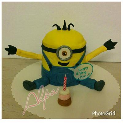 Minion cake - Cake by Alpa Jamadar