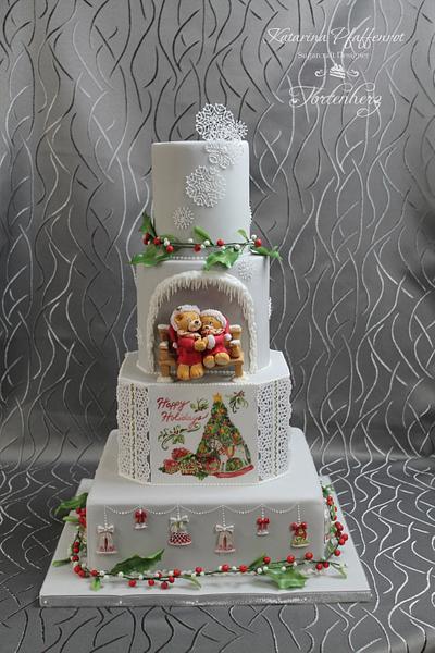 "Wedding cake ""Christmas feelings"" - Cake by Tortenherz"
