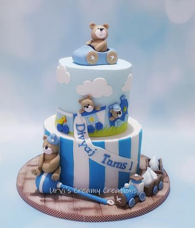 1st Birthday Cake - Cake by Urvi Zaveri