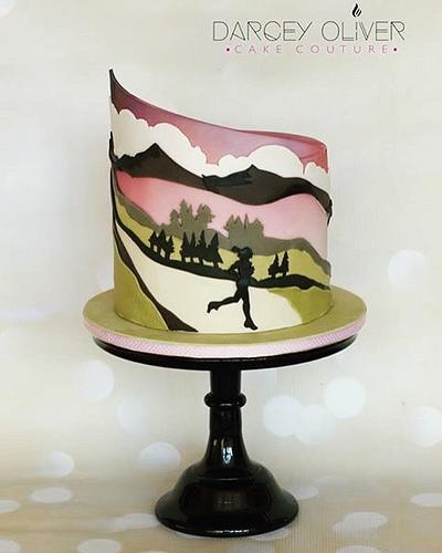 Hannah - Cake by Sugar Street Studios by Zoe Burmester