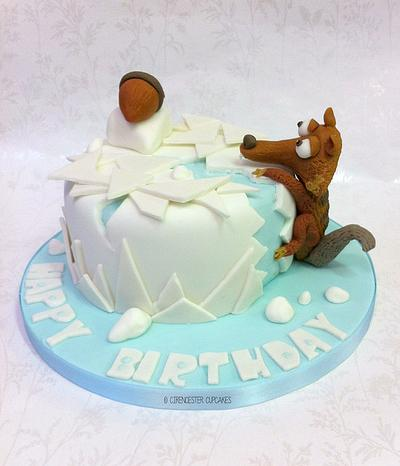 Aaah Scrat - Ice Age Cake - Cake by Happy_Food