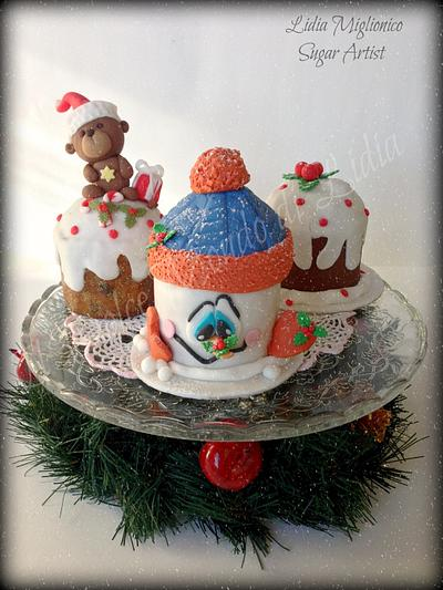 Happy Christmas ... Merry Christmas....Joyeux Noël...Feliz Navidad - Cake by Il Dolce Mondo di Lidia