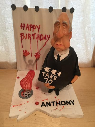 Alf Hitchcock -Psycho Birthday Cake!  - Cake by ChristopherJames