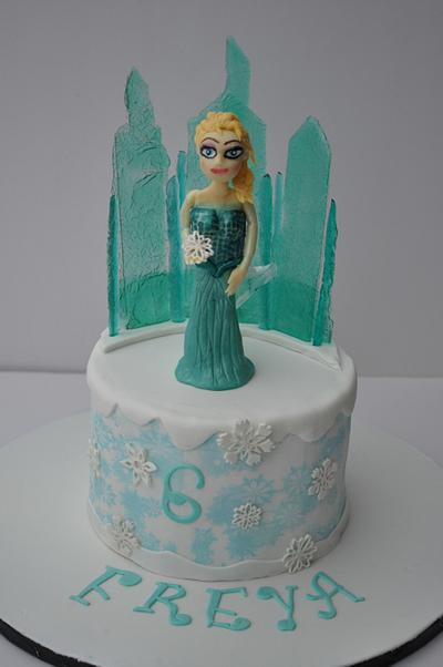 Elsa cake - Cake by Alpa Jamadar