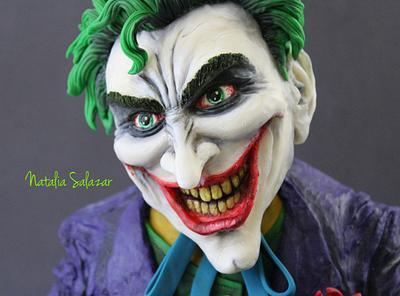 Joker cake  - Cake by Natalia Salazar