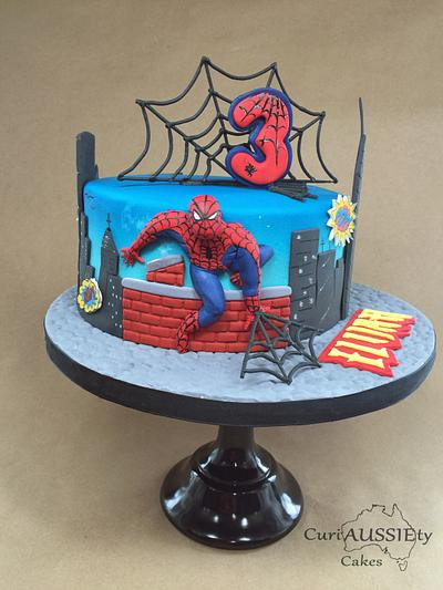 Spiderman cake - Cake by CuriAUSSIEty  Cakes
