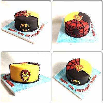 Superhero cake - Cake by Say it with Cakes