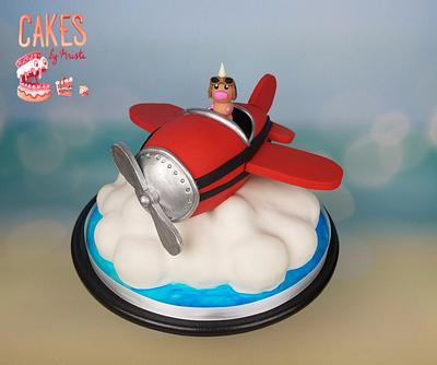 Pilot Weedle - Cake by Cakes By Kristi