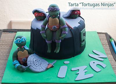 Teenage Mutant Ninja Turtles Cake - Cake by Kittyscuquis
