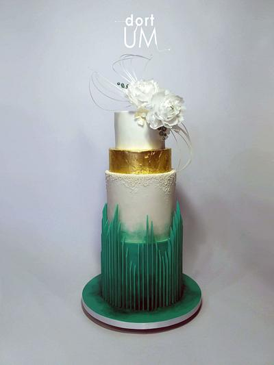 Wedding cake  - Cake by dortUM