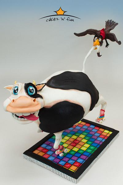 Funky Cow - Cake by Dirk Luchtmeijer