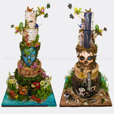 Earth Day  - Cake by Andres Enciso
