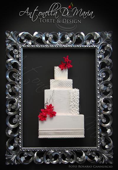 Modern chic cake in the frame - Cake by Antonella Di Maria